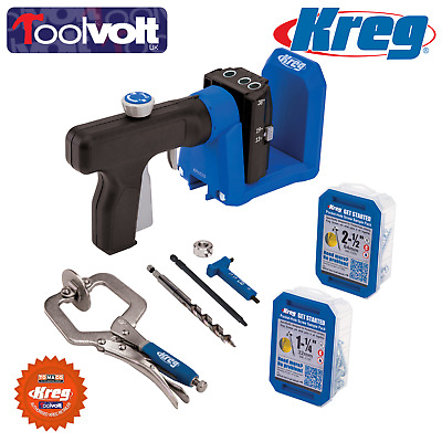 K4 Kreg Pocket- Hole Jig® Drill Guide For all Types Of Timber. - 256272