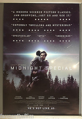 Cinema Poster: MIDNIGHT SPECIAL 2016 (One Sheet) Adam Driver Michael Shannon