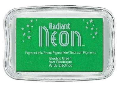 Radiant Neon Stempelkissen Electric green  241077