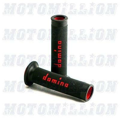 Domino MotoGP Dual Compound Grips Checkered Motorsport - Made in Italy