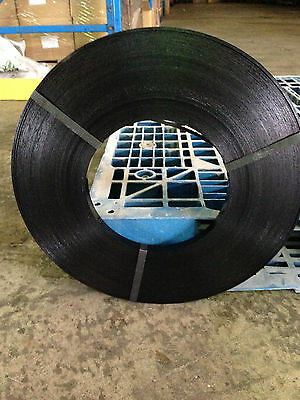 """19mm x 0.56mm Steel Strapping Ribbon """"TWO"""" x 15kg Rolls (180m) Packing Shipping"""
