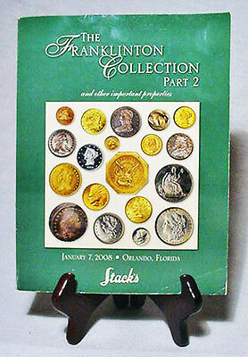 1325 Rare U.S. Coins Auctioned by Stack's/Many Gold/2008 Catalog + Bids Realized