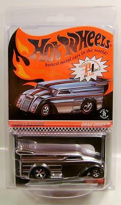 2014 '14 Drag Dairy Chrome Edition Club Car Rlc Hot Wheels Hw Diecast Rare!!