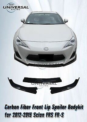 Carbon Fiber Front Lip Spoiler Bodykit for 2012-2015 Scion FRS FR-S