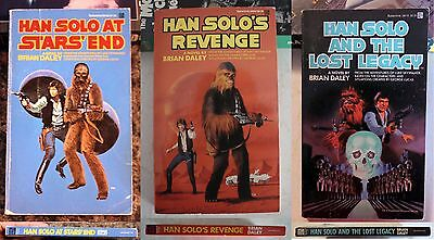 Book Lot Han Solo At Star's End + Lost Legacy + Revenge: Brian Daley 1st solo's