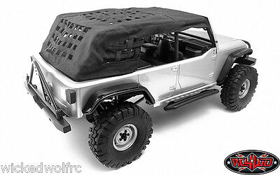 RC4WD Fabric Roof for Axial SCX10 JK 90027 Crawler vvv-c0139