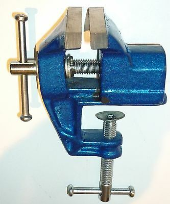 TABLE VICE 50mm ALL STEEL WITH TABLE CLAMP MOUNTING - NEW IN BOX