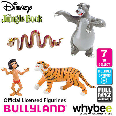 Official Bullyland Disney The Jungle Book Figurines - 7 Cake Figures to Collect!