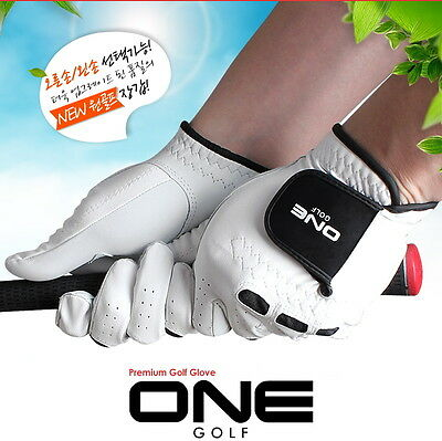 3 Pcs 25 Mens Premium Cabretta Golf Left Glove Soft Durable Functional
