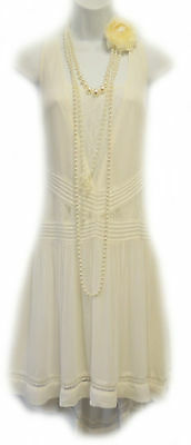 1920s Flapper Charleston Gatsby Dress *SECONDS* UK 6 8 10 12 14 NEW €49,99