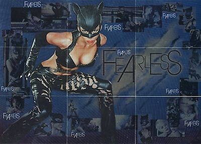 2004 Inkworks Catwoman Halle Berry Fearless ( 9 ) Card Set