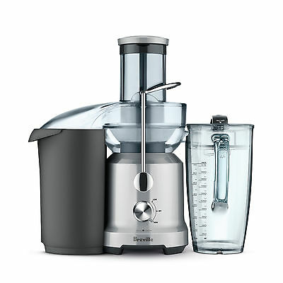 Breville BJE430SIL Juice Fountain Cold Juicer with 2L Juice Jug - RRP $398.00