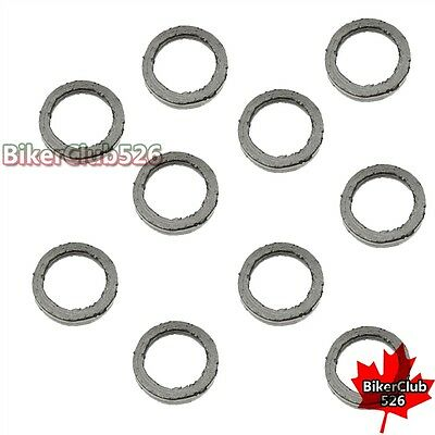 22mm Exhaust Muffler Gasket For GY6 49cc 50cc 125cc 150cc Chinese Moped Scooter