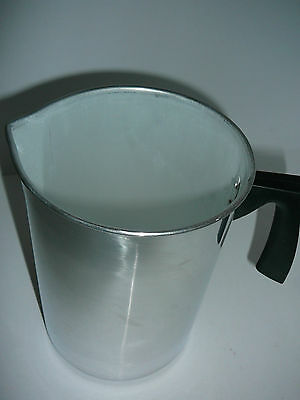 NEW Pouring Jug Aluminium 1.8 Litre Candle Soap Making Aluminium Pouring Jug New