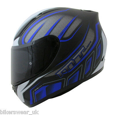 MT Revenge ALPHA - Full Face Motorcycle Everyday Helmet  - BLACK / BLUE