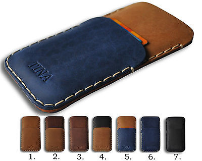 Huawei Leather Wallet Case Cover PERSONALIZED Sleeve Pocket Pouch Custom Sizes
