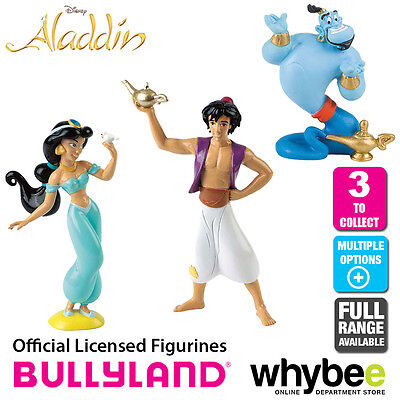 Official Bullyland Disney Aladdin Figurines - 3 Cake Topper Figures to Collect!