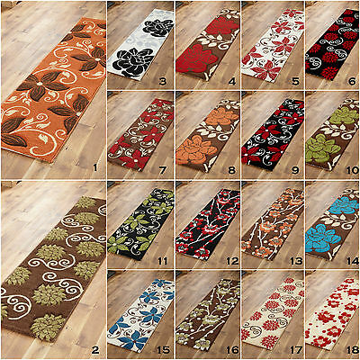 Small Medium Black Red Multi Colour High Quality Flowery Clearance Rugs For Sale