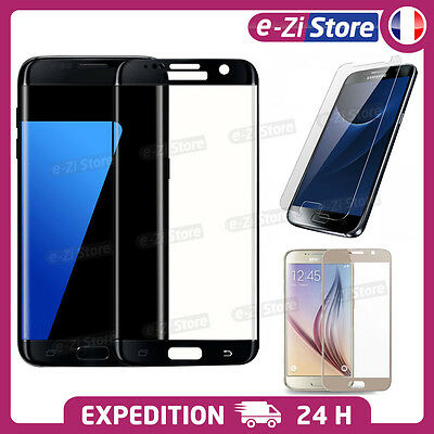 Vitre Film Protection Ecran Verre Trempé 3D Samsung Galaxy S6 S7 Edge S8 S8 Plus
