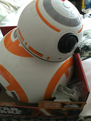 Star wars the force awakens BB-8,  large 45 cms   talking and moving head toy