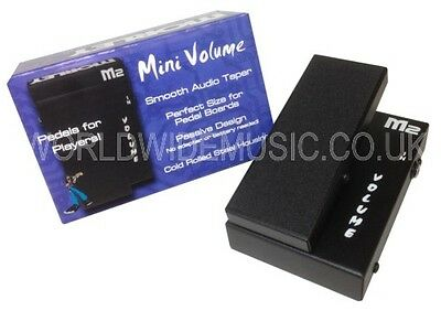Morley M2MV MINI Passive Volume Guitar Effects Pedal