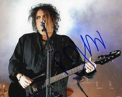 Robert Smith The Cure Autographed 8x10 Signed Photo Reprint
