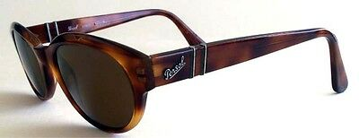 Rare Suprema Green Tempered Tortoise 3092 Sunglasses Persol Po Glass ARLS34q5jc
