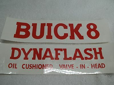 1939-40 Buick Valve Cover Decal, 40-50 Series, NEW