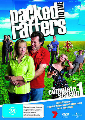 Packed to the Rafters - Complete Season 1 NEW PAL Cult 6-DVD Set Australia