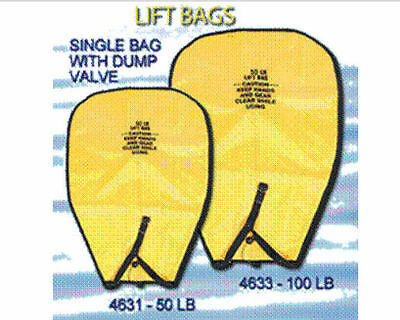 Lift Bag Salvage Rescue Dive Underwater Scuba Recovery