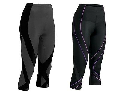 New CW-X 3/4 Pro Women Compression Tights Running Pants ALL SIZES  FREE SHIPPING
