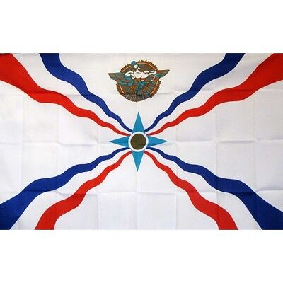Assyrian 3 x 5' Banner National Flag 90cm x 150cm