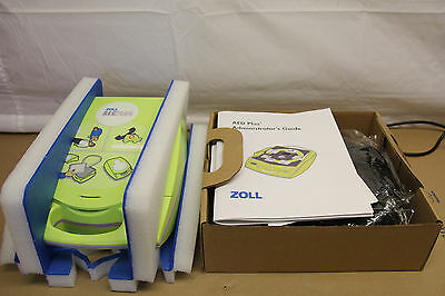 Zoll AED Plus defribillator Made in 2016. Brand New in Box with Warranty!