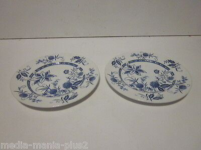 2 Vintage Barker Bros Ironstone Cathay Pattern Bread Plates