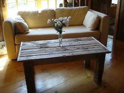 "Rustic Coffee Table, Driftwood coffee table (42"" x 22"" Wide x 16"" H)"