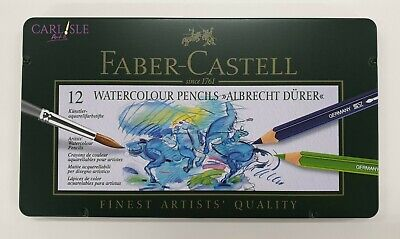Faber-Castell Albrecht Dürer Watercolor Pencils, Tin of 12