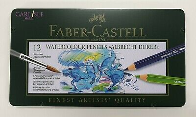 Faber-Castell - Albrecht Durer Watercolour Pencils - Tin of 12