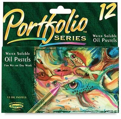 Crayola Portfolio Water Soluble Oil Pastels