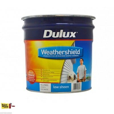DULUX PAINT Weathershield Low Sheen 15L - DELIVER OR PICKUP