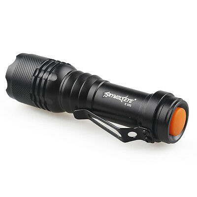 Super Bright 5000LM Q5 AA/14500 3 Modes ZOOMABLE LED Flashlight Torch