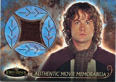 Topps Lord Of The Rings Evolution Billy Boyd As Pippin Travel Cloak