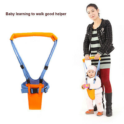Infant Kids Baby Safety Walking Belt Strap Harness Assistant Walker Keeper NEW