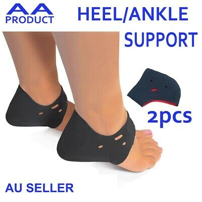 2x Foot Heal Ankle Sock Sleeve Support Cushion Pad for Plantar Fasciitis Therapy
