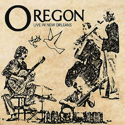 OREGON - Live In New Orleans. New LP + sealed ** NEW **