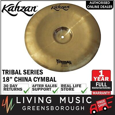 """New Kahzan """"Tribal"""" Series 18"""" China Cymbal for Drum Kit"""