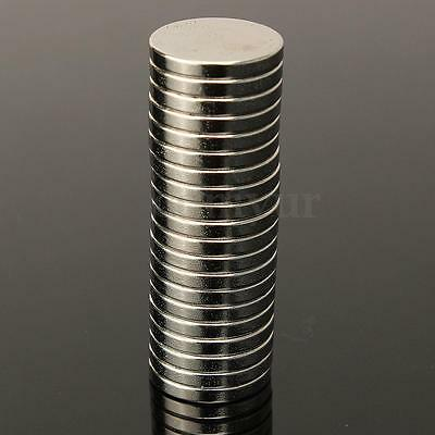 New 10X Round N50 Grade Super Strong Disc Rare Earth Neodymium Magnets 20 x 3mm