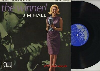 LP Jim Hall - The Winner! FONTANA 683 271..GREAT GIRL COVER...1964..NM