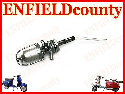 Brand New Vespa Petrol Fuel Gas Tap Assembly With Reserve All Models @uk