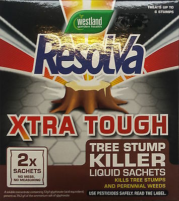 WEEDKILLER - RESOLVA XTRA TOUGH. Treats up to 396 sq m.Control deep-rooted weeds