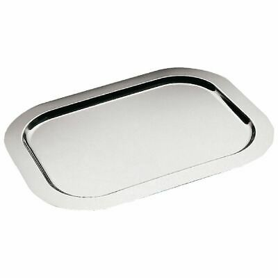 APS Rectangular Serving Tray Stainless Steel Platter Kitchenware